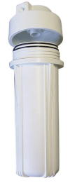 701, Filter Housing Chamber Casing White Color 1/4 FPT