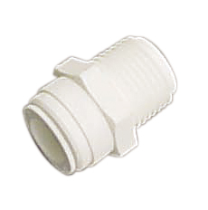 AMC-0407 Male Connector NPT Thread Quick Connect Fitting 1/4 1/2
