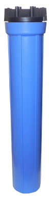 "B2012, 20"" Long Slim Big Blue Filter Cartridge Housing 260 322"