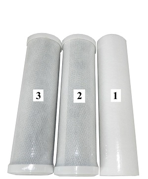 BUNDLE PACK ANNUAL FILTER KIT FK3 WaterGeneral 102 150 (3 ITEMS)