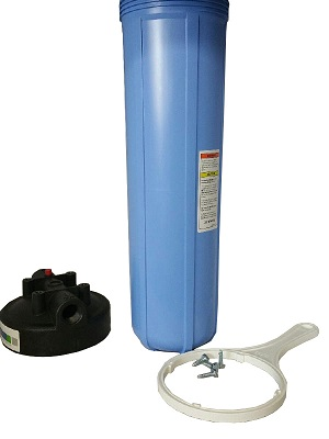 "WH-25, Whole House Water Treatment Sediment Filter System 20"" Bi"